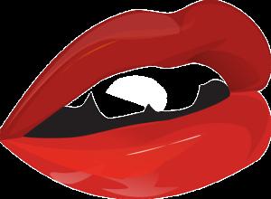 erotische lippen